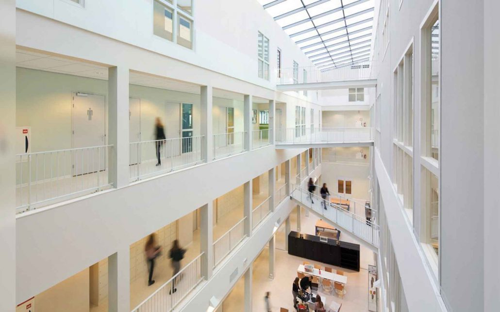 reeshof college – ags architects